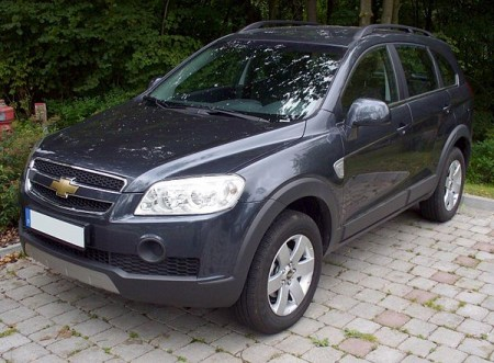 Chevrolet Captiva. Фото Thomas doerfer / Wikipedia